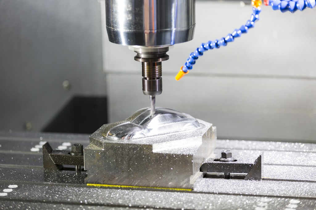 What is a CNC machine? An example of a high precision industrial CNC machine