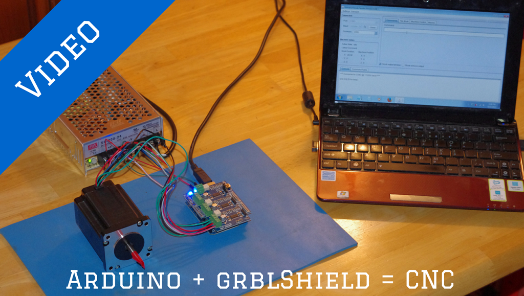 DIY CNC Controller Arduino grblShield diy cnc controller how to setup your arduino & gshield